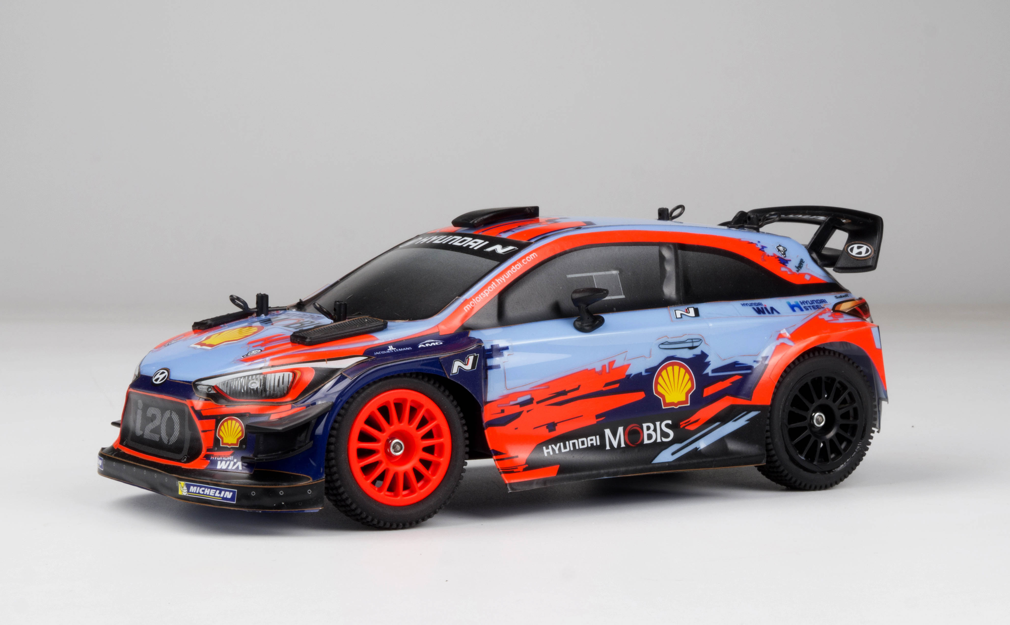 Carisma GT24 Hyundai i20 1/24-scale Brushless Rally Car
