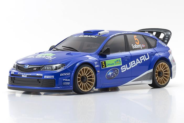 Kyosho Mini-Z 2008 Subaru Impreza WRC Readyset
