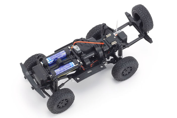 Kyosho Mini-Z Toyota 4-Runner HiLux Surf - Red - Chassis