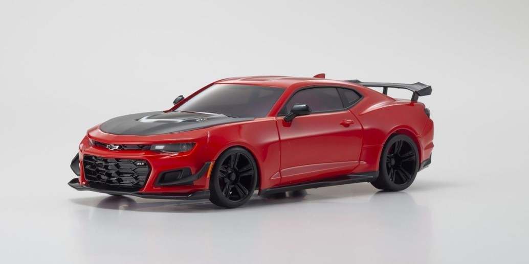 Cool Camaro: Kyosho's Latest Mini-Z Model Features One of Today's Hottest Muscle Car Bodies