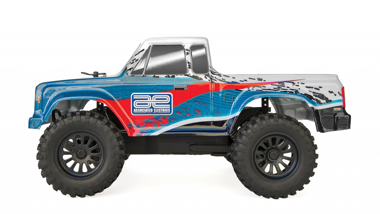 Team Associated CR28 Small-scale Trail Truck - Side