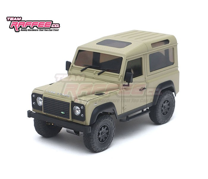 Team Rafee Co. Defender D90 Body for the Kyosho Mini-Z 4×4