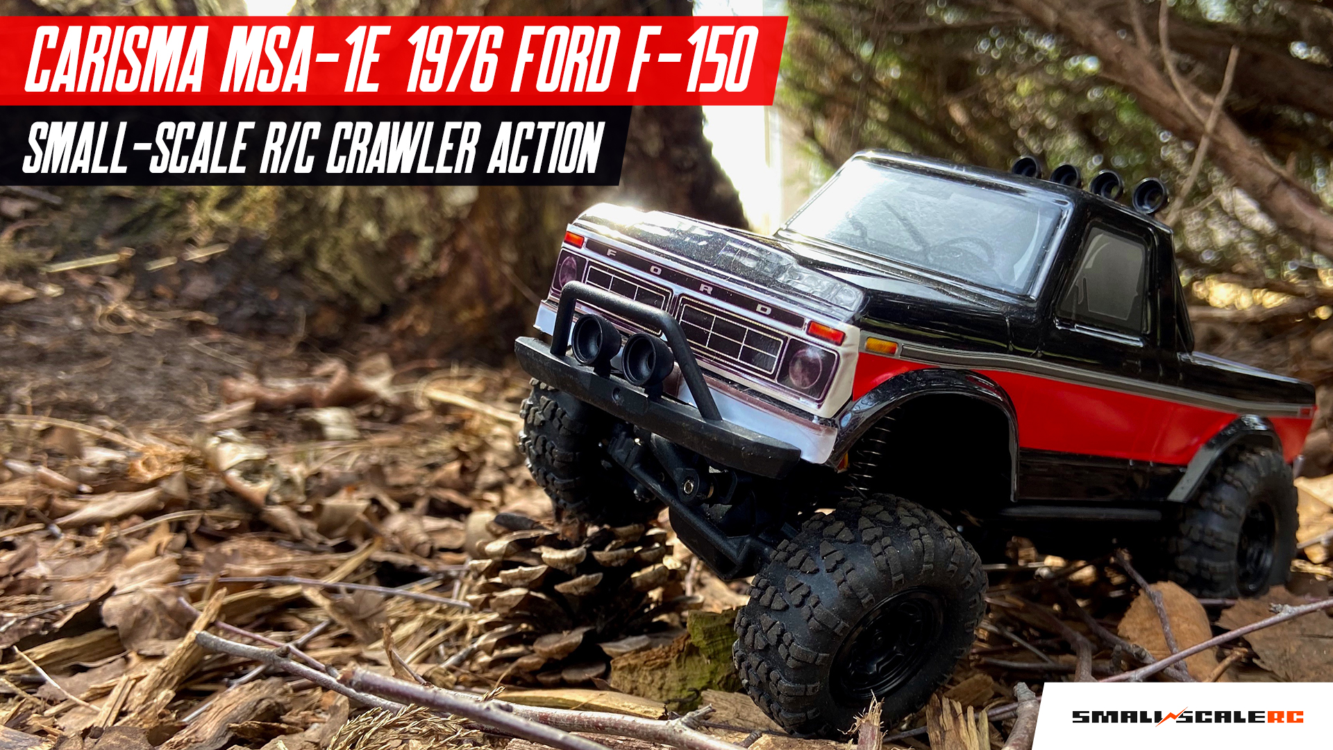 Outdoor Crawling Action with the Carisma Scale Adventure MSA-1E [Video]