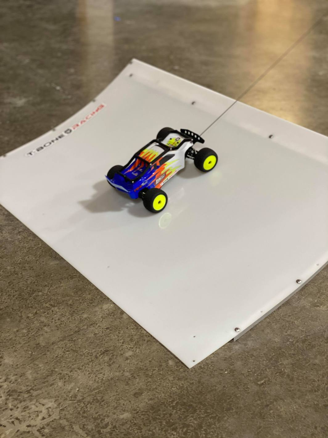 Turn Your Back Yard Into a Mini-T Track with T-Bone Racing's Track Segments