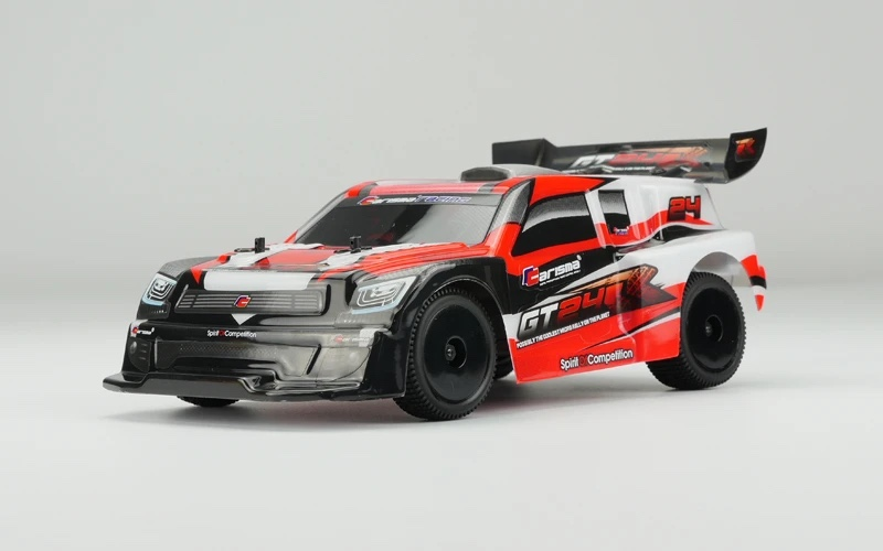 Carisma Re-Launches the GT24R 1/24-scale Rally Car