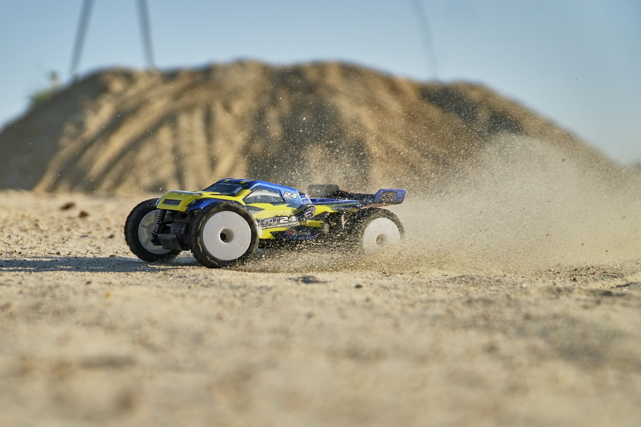 Back in Action: Carisma Re-Releases the GT24TR 1/24-scale Truggy