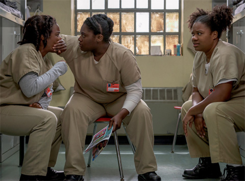 Season 4 of Orange Is The New Black premieres in June. NETFLIX PHOTOS