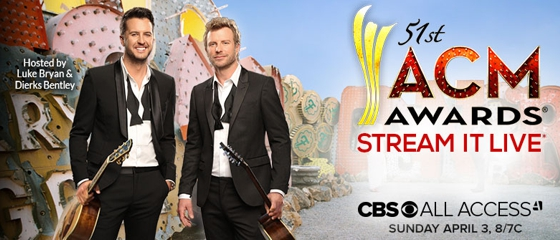 51st ACM Awards 2016 live on CBS & CBS All Access