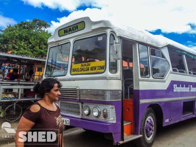 fiji - bus station - nadi