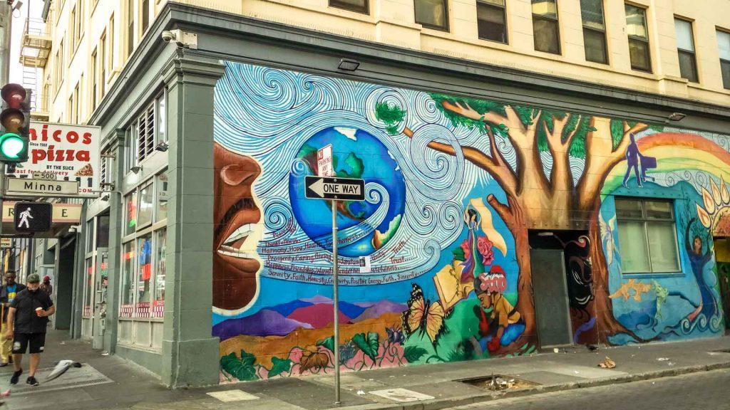 Murales per le strade di Sanfra