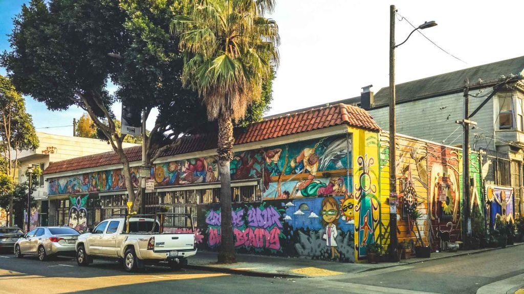 Murales per le strade di San Francisco