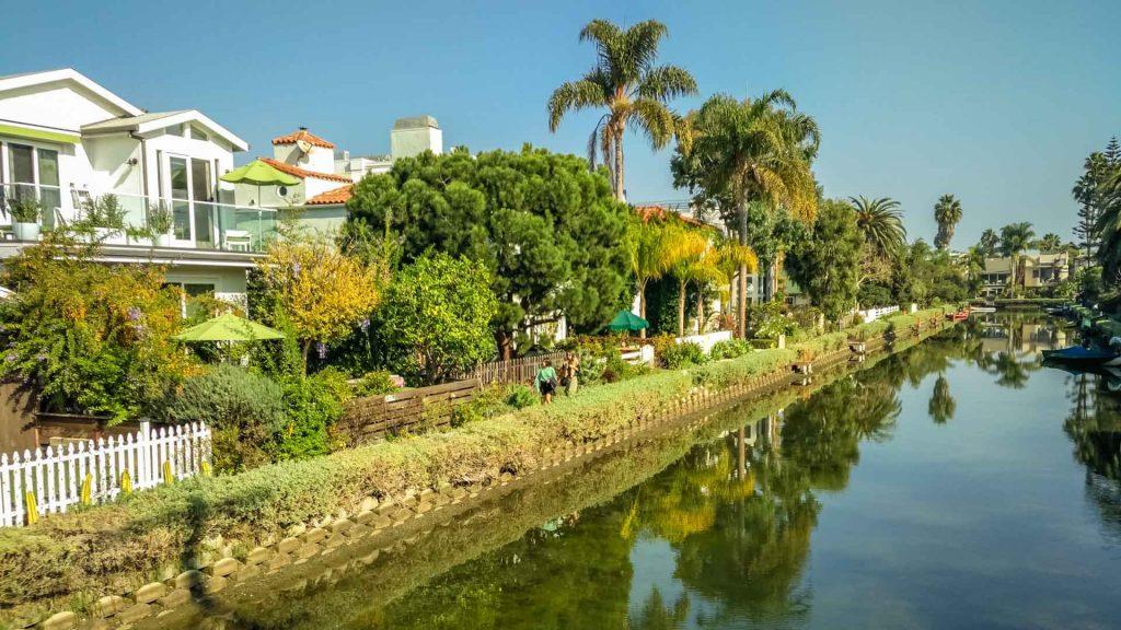 I canali di Venice Beach