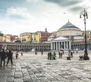 Veduta Piazza Plebiscito Napoli