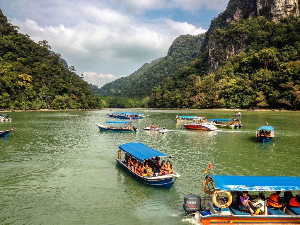 Boat tour in Malesia archipelago di Langkawi
