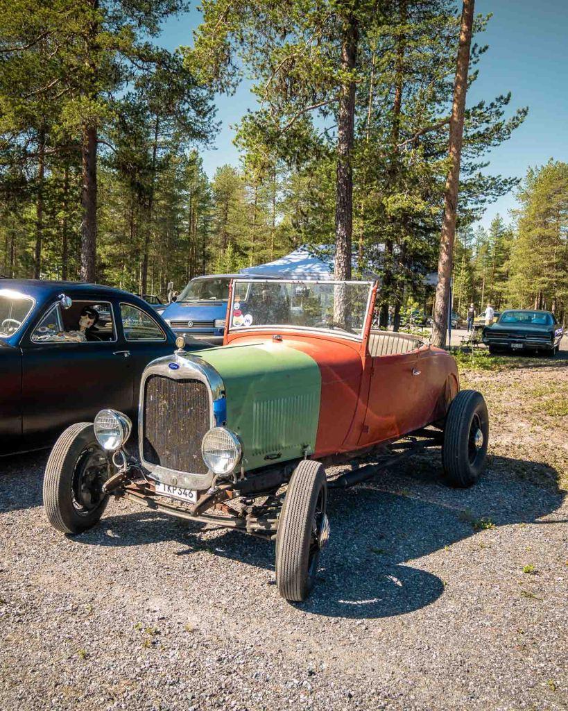 Macchine americane in Svezia una vera passione