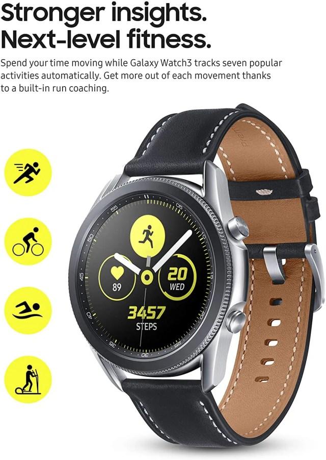 Best Smartwatches 2021 - Samsung Galaxy Watch 3 specs - smallsmartwatch.com