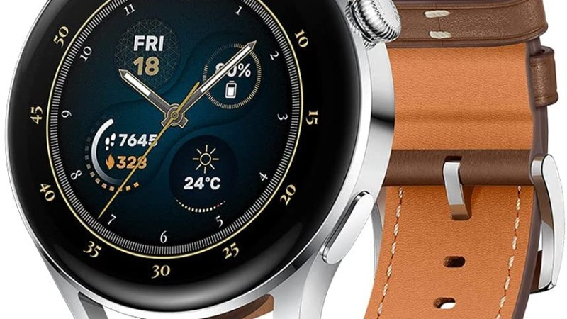 Huawei Watch 3 – all-rounder smartwatch with long-lasting battery life