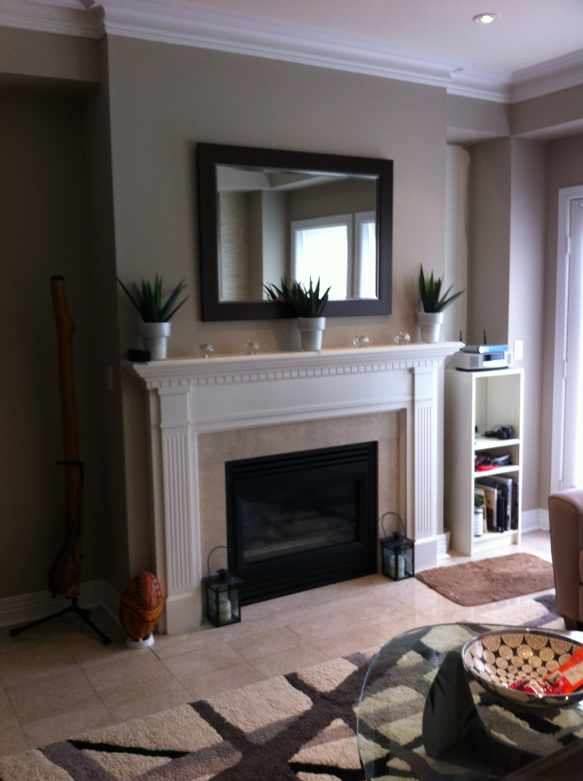 Creating Fireplace Cabinets Small Space Style