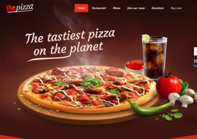BeTheme Pizza