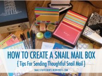 Tips for sending thoughtful snail mail