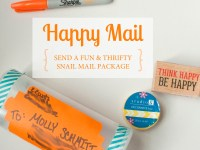 Happy Mail! Send a fun & thrifty snail mail package
