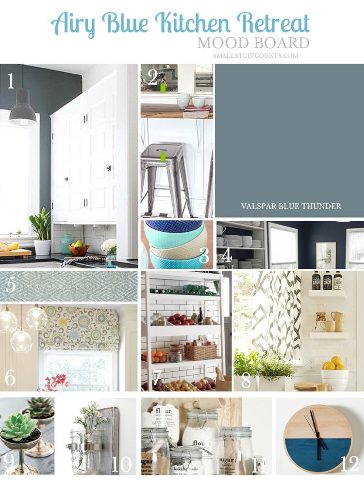 Kitchen Mood Board Airy Blue Retreat Small