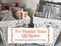 Give the gift of pre-planned dates