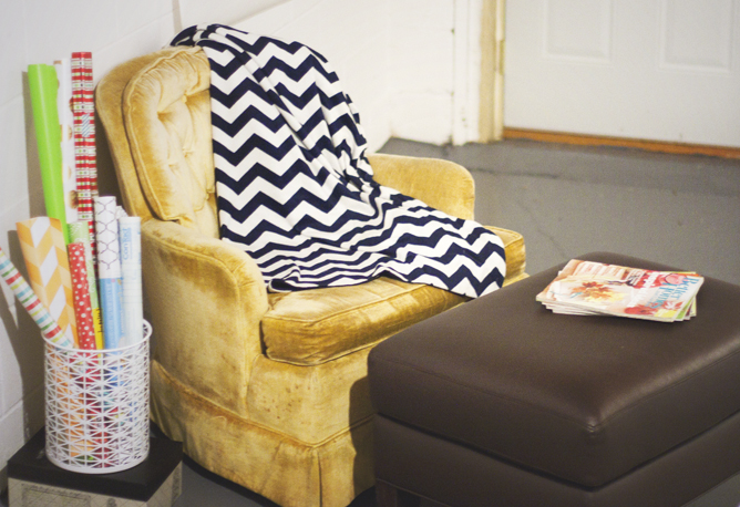 Every craft room and office should have a comfy reading nook