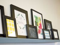 A $10 DIY Picture Ledge (Plus A Collection Of Free Printable Art)