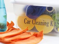 Quick Organizing Tip: Create A Car Cleaning Kit