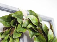 A Thrifty DIY Magnolia Wreath