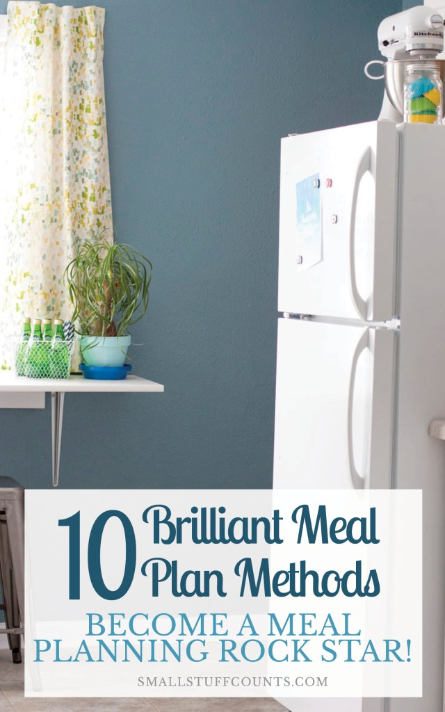 """This post has a whole list of meal planning methods! I love the variety and how simple some of these ideas are. Meal planning systems can be used by anyone no matter how """"organized"""" they think they are."""