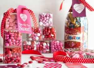 OMG these mini boxes of M&M'S® candies are the cutest DIY Valentine's Day gift idea! I'm obsessed with this little gift idea and LOVE that it's fast to make. Would be a great gift idea for my girlfriends! And those free printable gift tags are perfect!!!