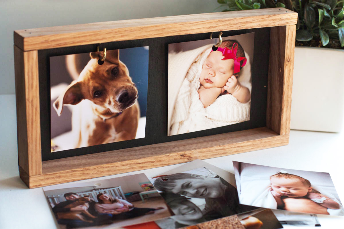DIY Photo Gift Idea: An Instagram Picture Frame