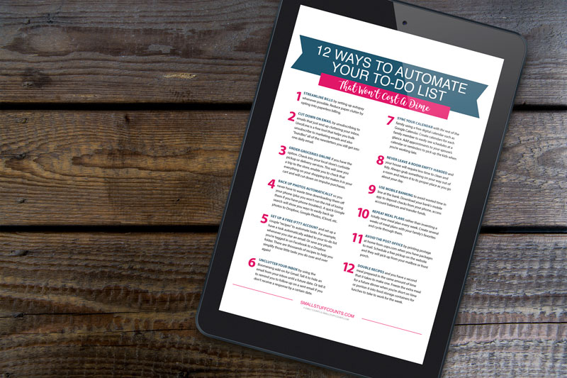 12 Ways To Automate Your To-Do List Free Guide Graphic