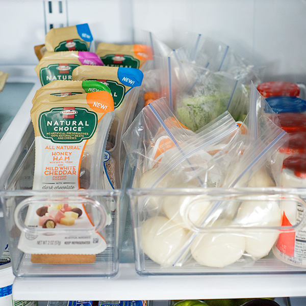 organized-snack-station-in-fridge