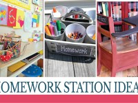 10 Homework Station Ideas Perfect for Any Home