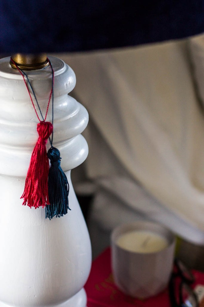white-lamp-with-tassels-in-bedroom