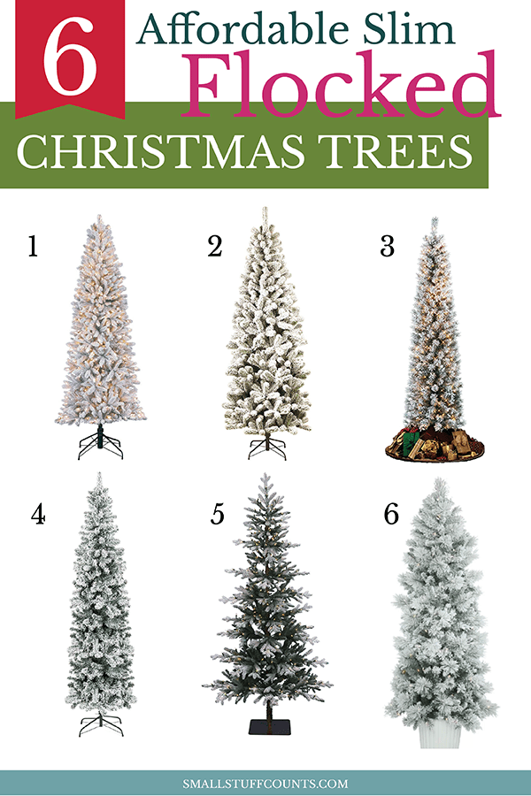 slim-flocked-christmas-trees