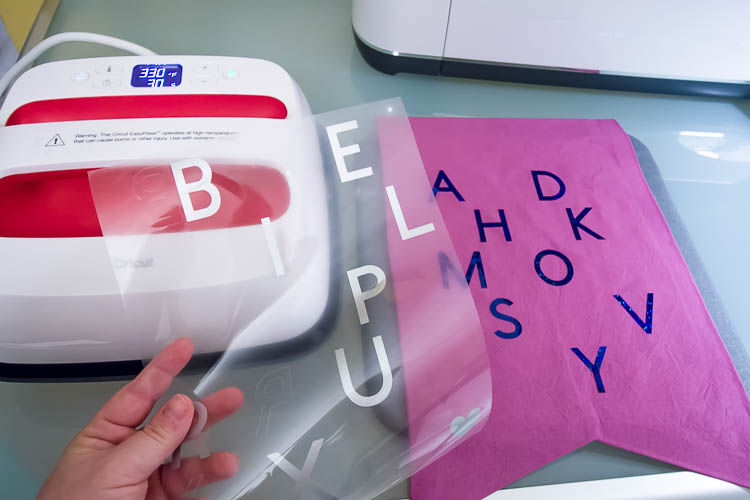 cricut-iron-on-vinyl-with-letters