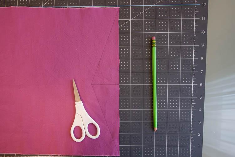 purple-fabric-on-mat