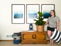How To Paint A Room Quickly (Our Living Room Got A Facelift!)