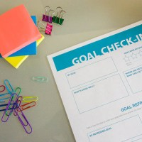 Free Printable Goal Check-In Worksheet
