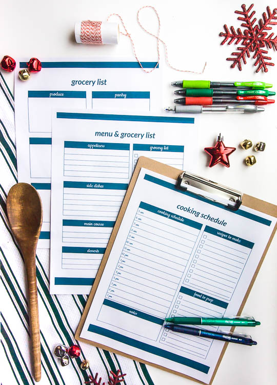 christmas-meal-planning-printables-on-table