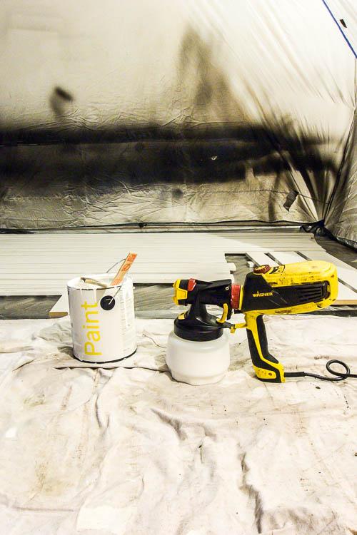 wagner-flexio-paint-sprayer-with-window-trim-in-garage