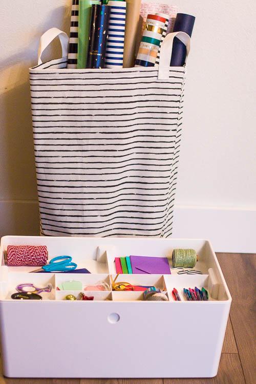 wrapping-paper-storage-bin