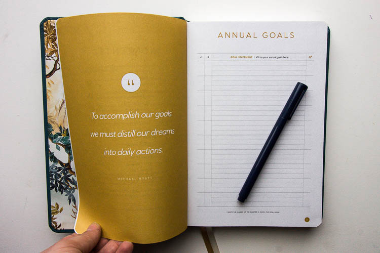 full-focus-planner-annual-goals-page