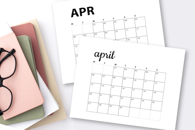 april-2020-printable-calendars-flatlay