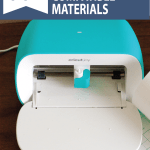 graphic: 60+ Cricut Joy compatible materials