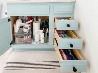 Bathroom Drawer Organization Tips